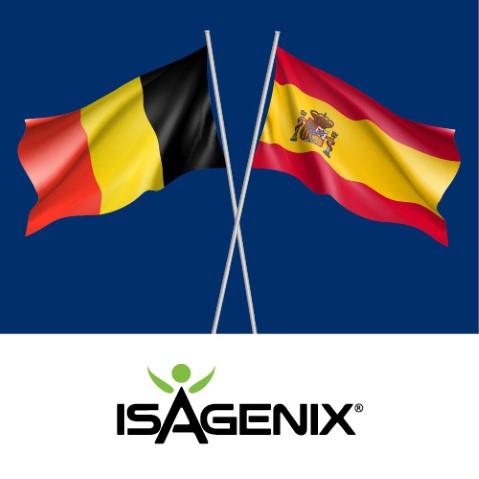 Isagenix International Announces Spain and Belgium Expansion