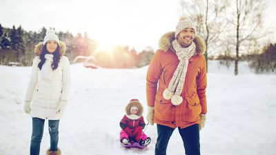 Family Snow Pic Healthy Giving Guide